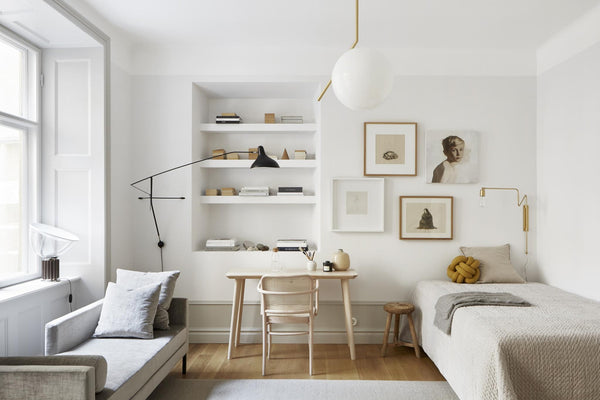 Classic Modern Swedish style apartment