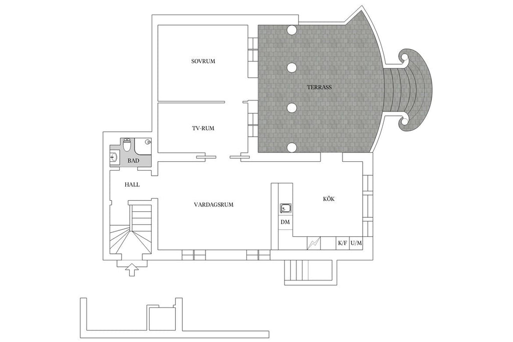 Floor plan grand living