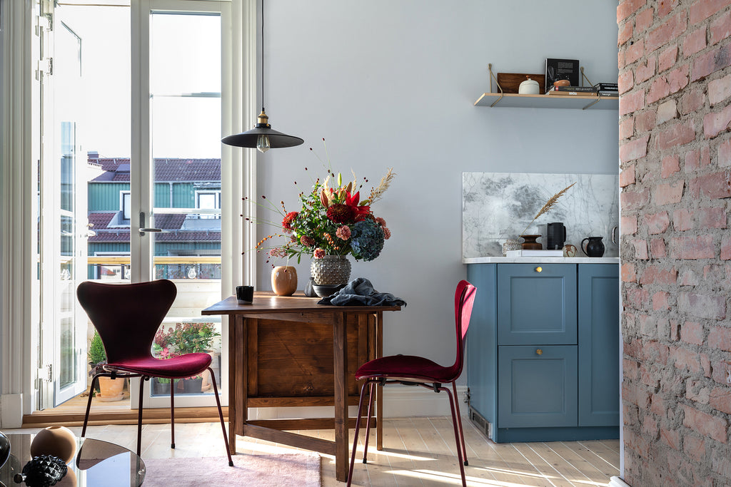 Swedish apt. with wonderful colour choices