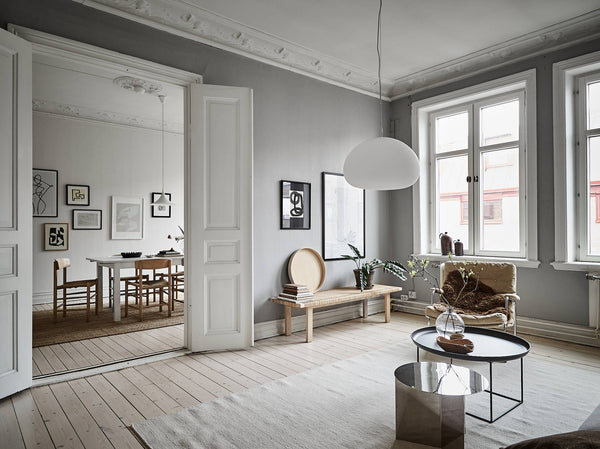 Beautiful Swedish apartment in neutral tones