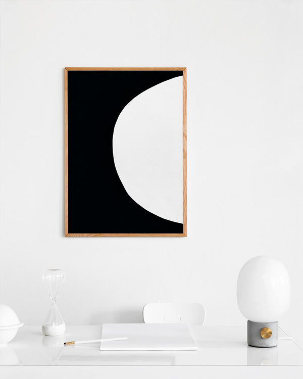 Circle No. 13 - Scandinavian style | Nordic Design | Grøn + White
