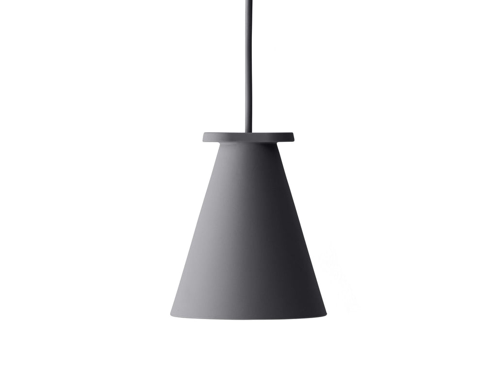 Bollard Lamp- Carbon - Grøn + White   - 1