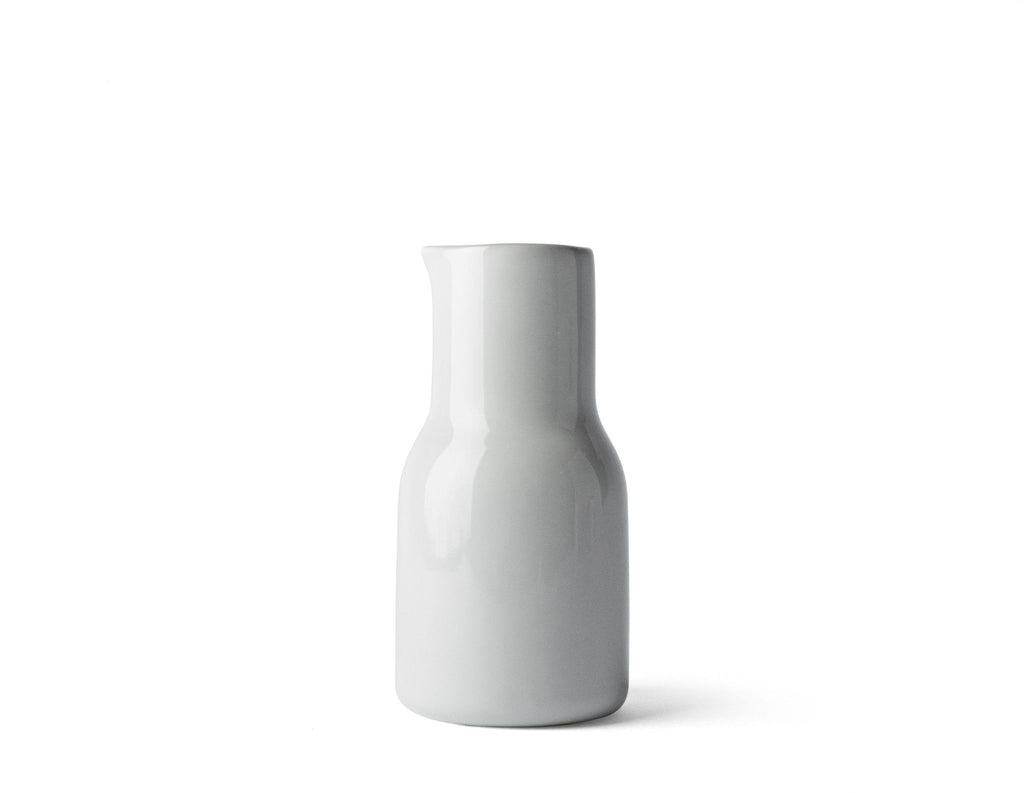 New Norm Mini Bottle | White - Scandinavian style | Nordic Design | Grøn + White