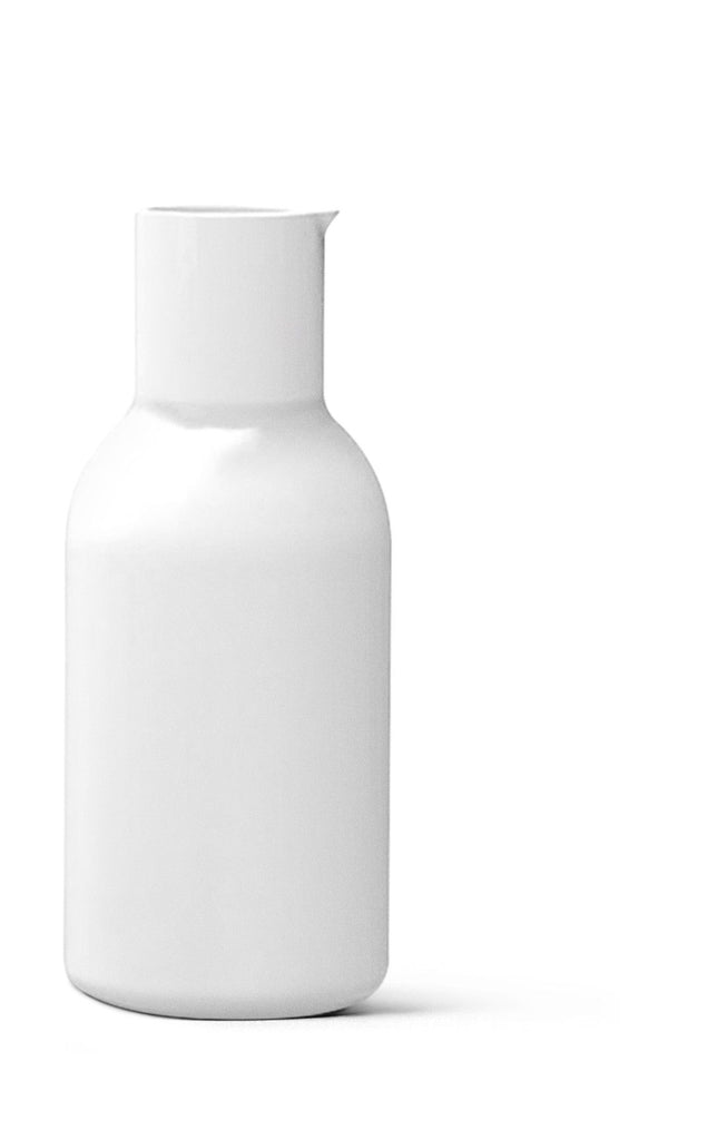 NEW NORM PORCELAIN BOTTLE - White - Grøn + White   - 1
