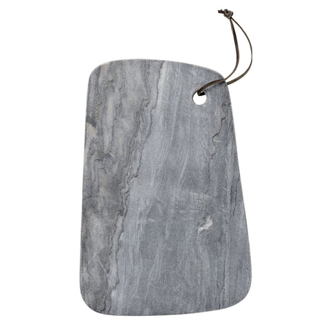 MARBLE CUTTING BOARD - GREY - Grøn + White