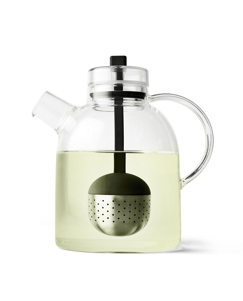KETTLE TEAPOT - Grøn + White   - 1