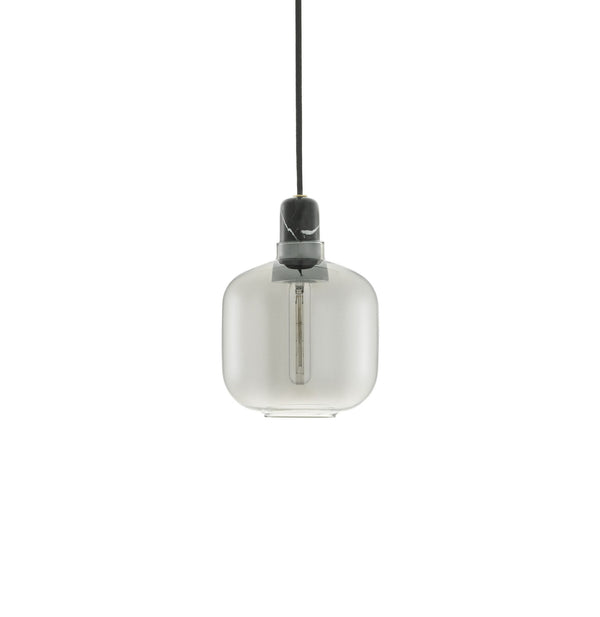Amp Lamp Small | Smoke /Black - Grøn + White