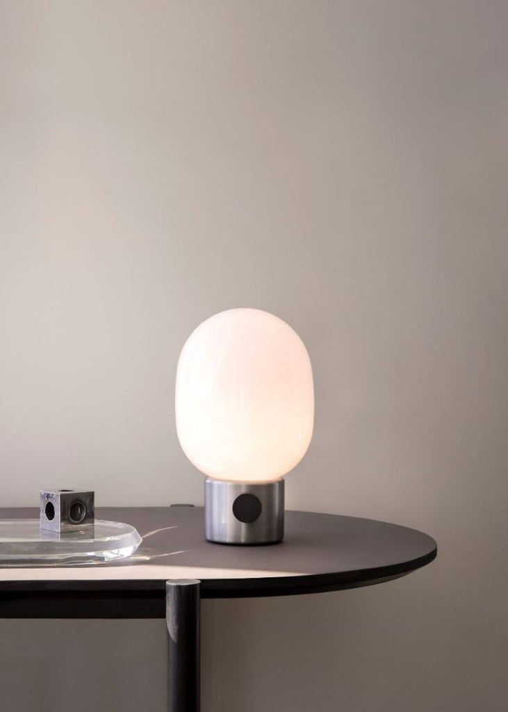 JWDA Lamp metallic | soft glow | grøn + white