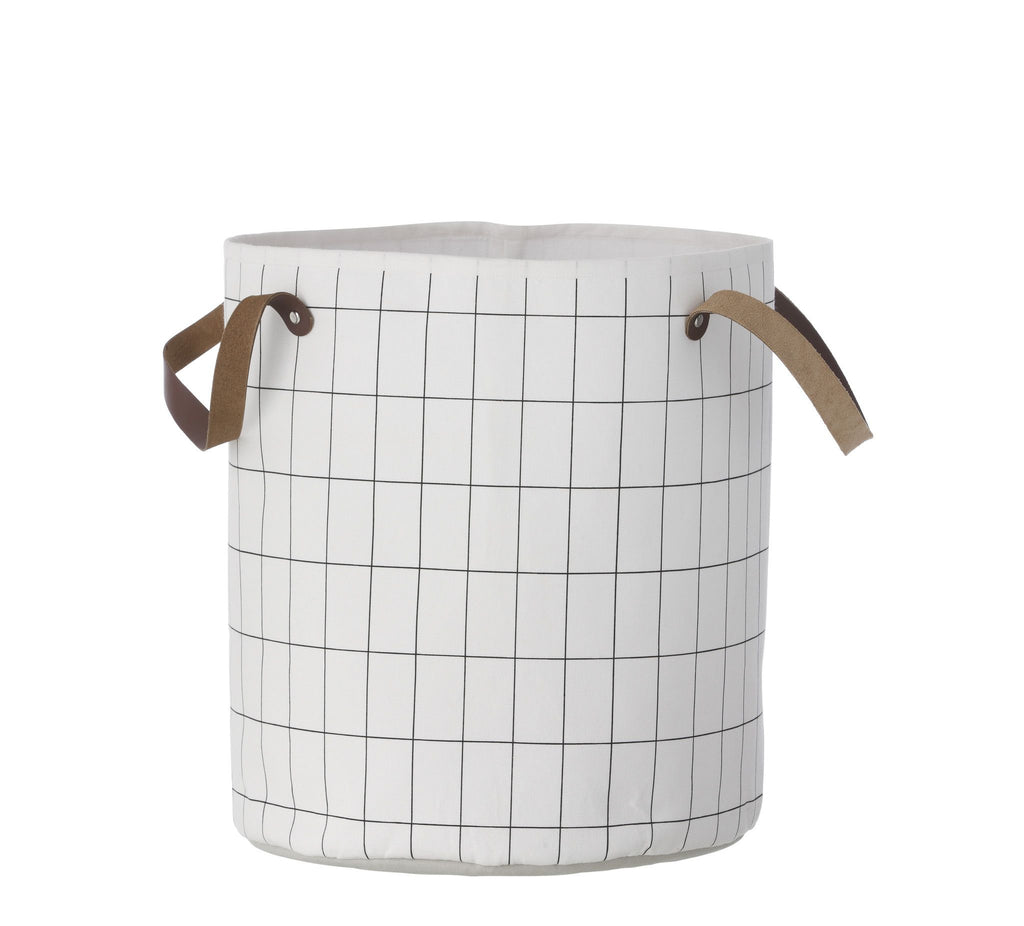 GRID BASKET- Med. Ferm Living - Grøn + White