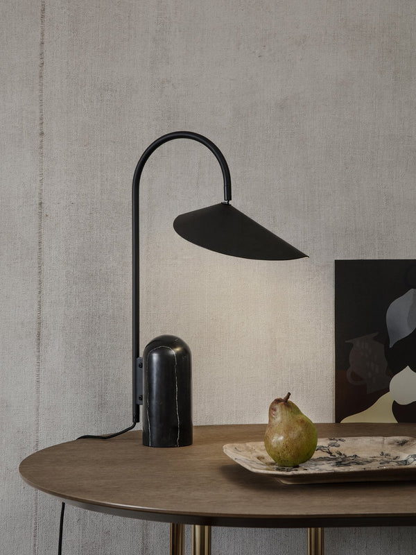 Arum Table Lamp - Scandinavian style | Nordic Design | Grøn + White