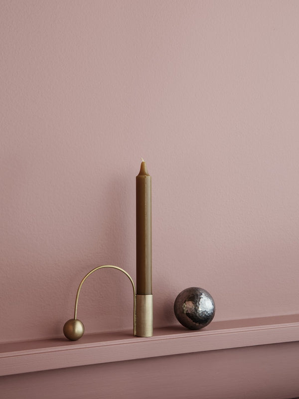 Balance Candle Holder - Grøn + White