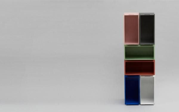 Color Box | Assorted Colours - Scandinavian style | Nordic Design | Grøn + White