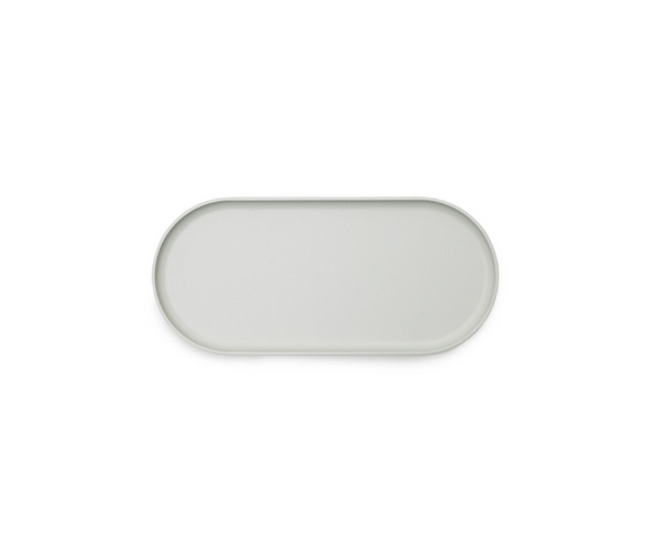 Folk Tray | Light Grey - Scandinavian style | Nordic Design | Grøn + White