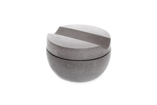 Shaving cup with Cedarwood soap | Grey - Grøn + White