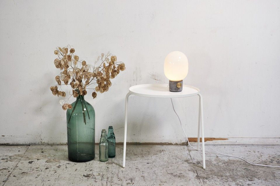 JWDA Concrete Table Lamp - Grøn + White
