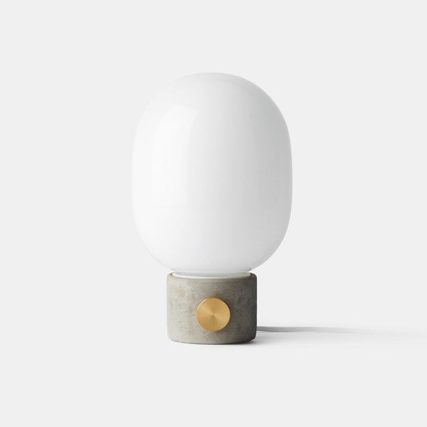 JWDA Lamp concrete with brass dial | Grøn + White