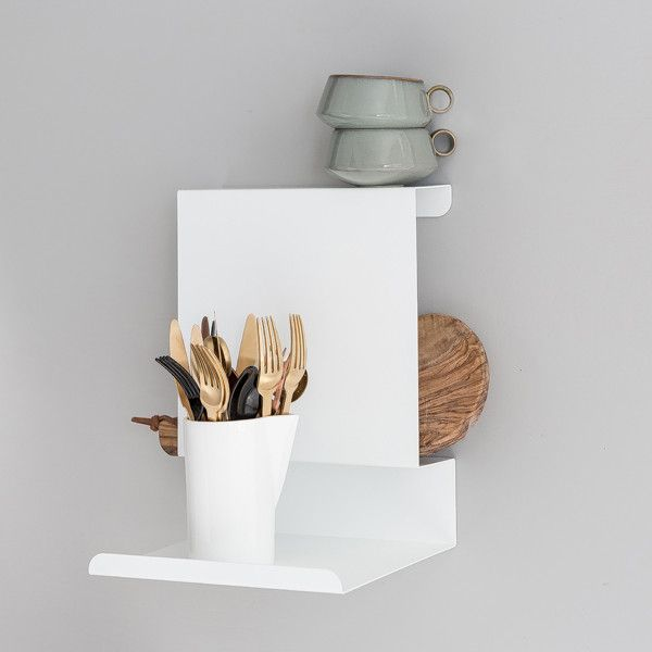LEDGE:ABLE  SHELF | WHITE - Grøn + White   - 1
