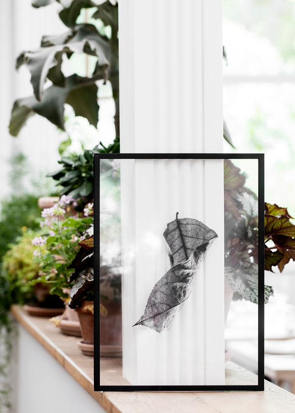 Floating Leaves No. 1 - Scandinavian style | Nordic Design | Grøn + White