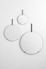 Moebe wall mirror set of three | grøn + white