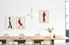 Red With Pearls - Scandinavian style | Nordic Design | Grøn + White