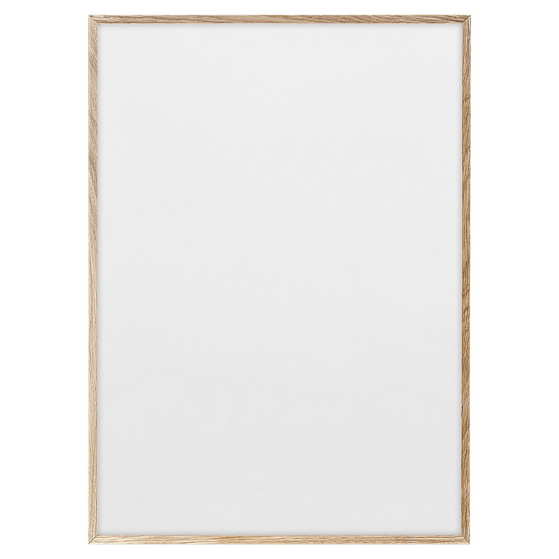Paper Collective Oak Frame - Scandinavian style | Nordic Design | Grøn + White