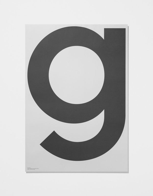 GREY - G | Print - Grøn + White