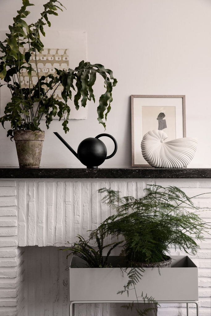 Shell Pot - Scandinavian style | Nordic Design | Grøn + White