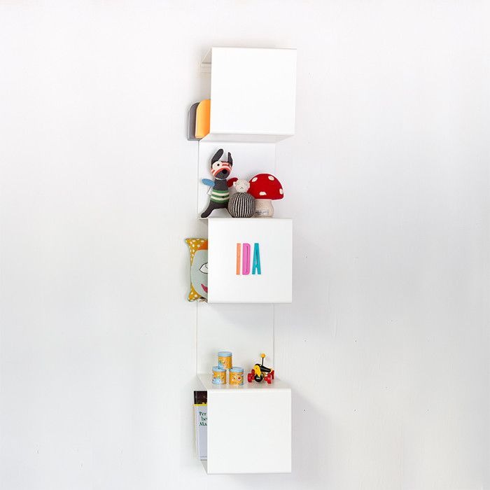 Showcase #1 Shelving Unit - Scandinavian style | Nordic Design | Grøn + White