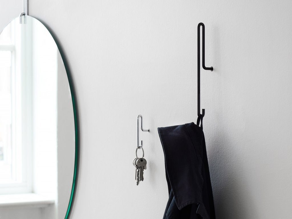 Moebe Wall Hook | Small (set of 2) - Scandinavian style | Nordic Design | Grøn + White
