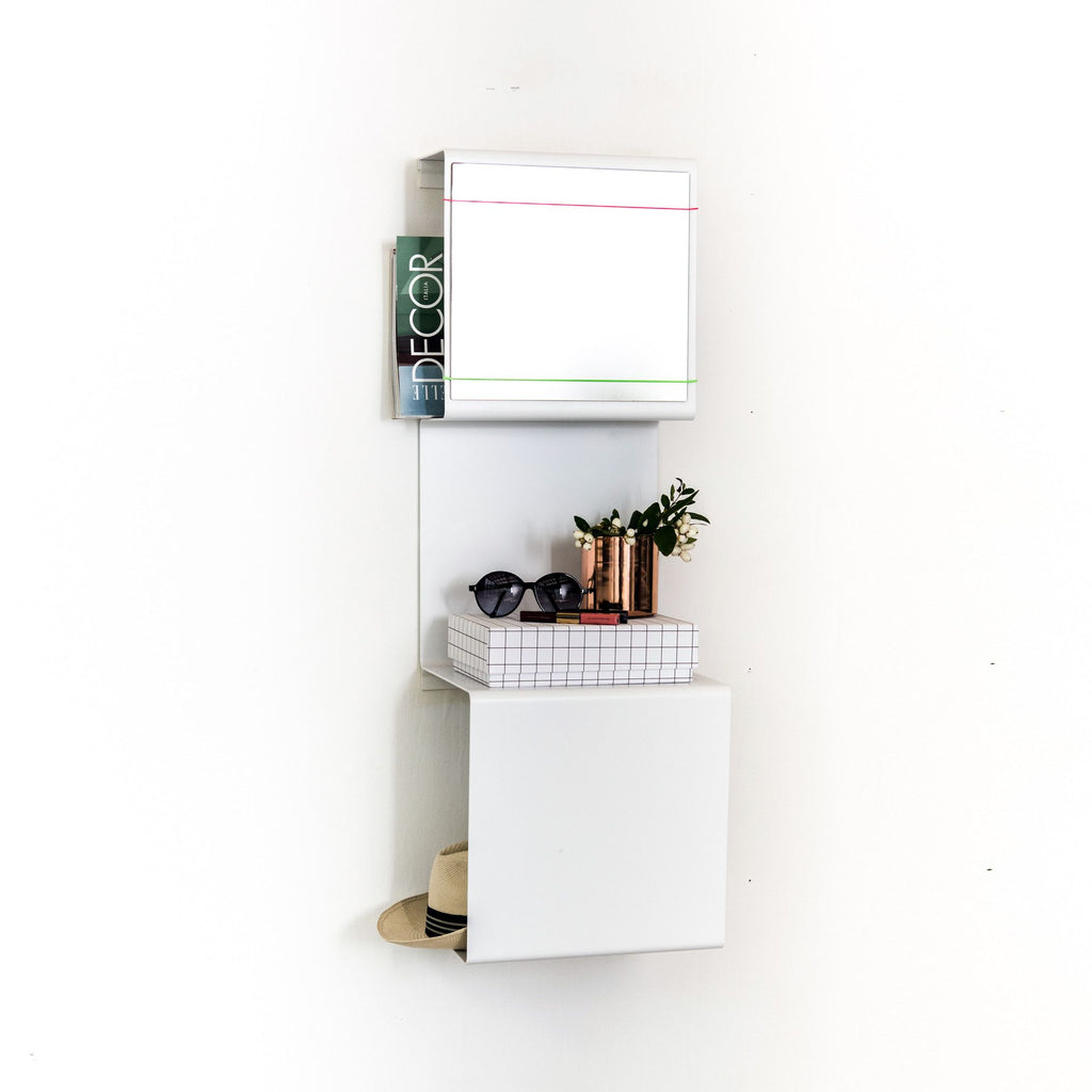 Showcase#3 Shelving - Grøn + White