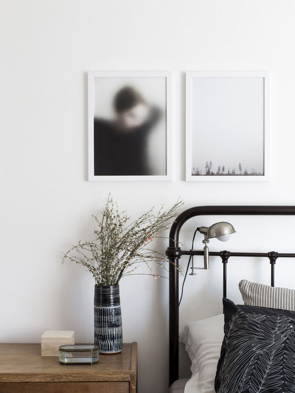 For Rest | Print - Scandinavian style | Nordic Design | Grøn + White