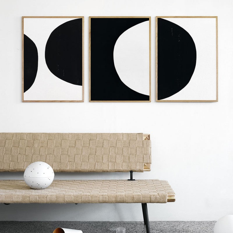 Circle No. 12 - Scandinavian style | Nordic Design | Grøn + White
