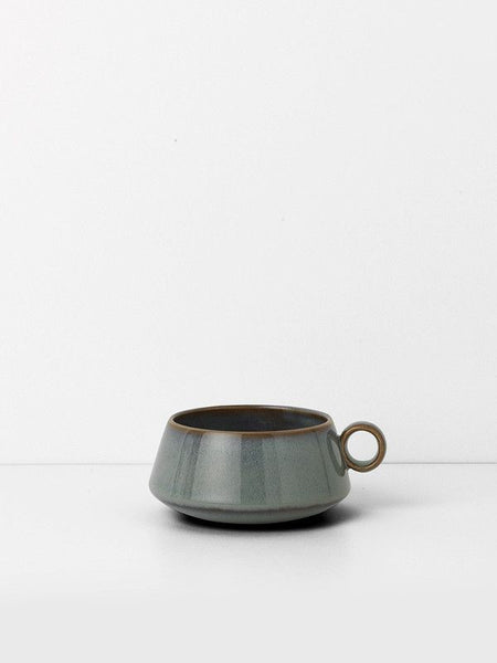 Ferm Living Neu coffee cup | Grøn + White Nordic style