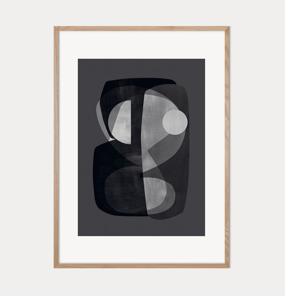 Abstract Construction Print - Scandinavian style | Nordic Design | Grøn + White