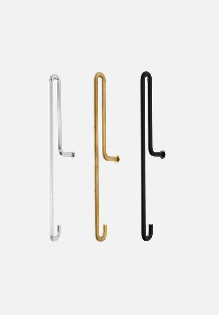 Moebe Wall Hook | Large - Scandinavian style | Nordic Design | Grøn + White
