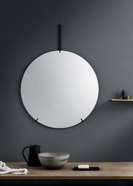 Wall Mirror | Black - Grøn + White