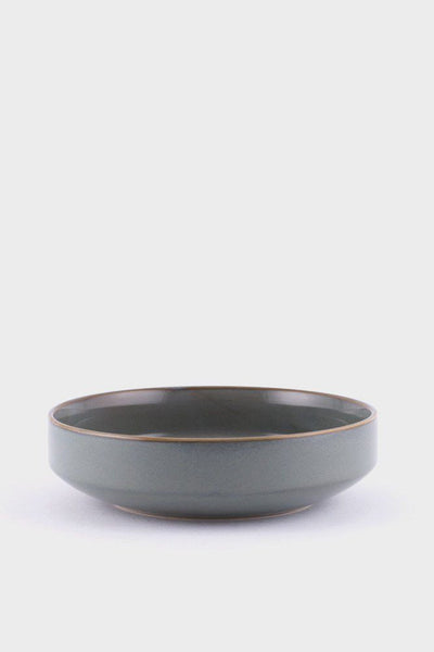 Ferm Living Neu serving bowl | grøn + white