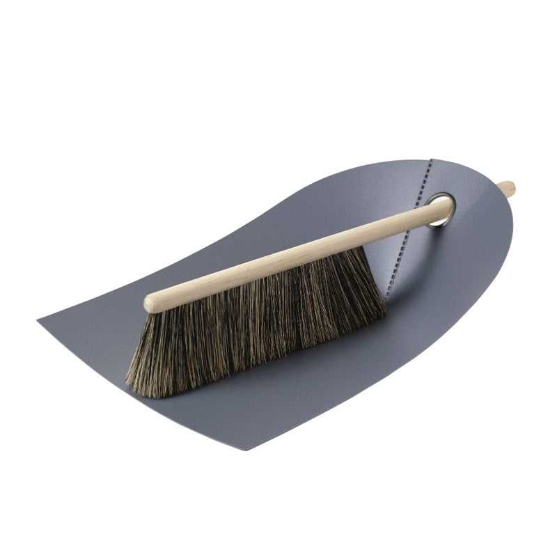 Dustpan and Broom | Grey - Scandinavian style | Nordic Design | Grøn + White