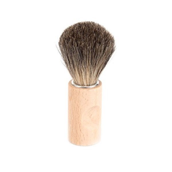 Badger Hair Shaving Brush - Grøn + White