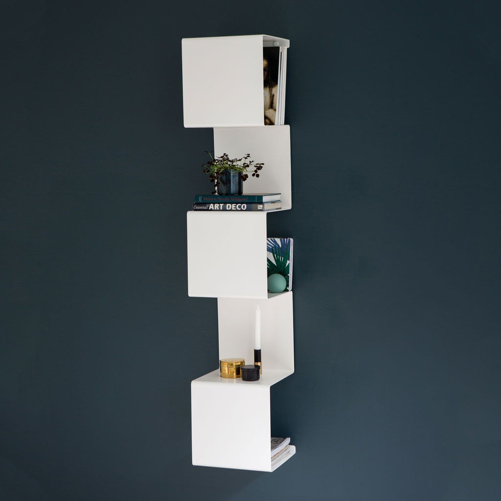 Showcase #1 Shelving Unit - Grøn + White