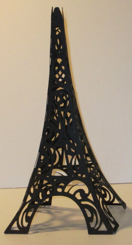 Eiffel Tower great Cake Topper or Decoration for French Paris Theme Party-made with paper DIY