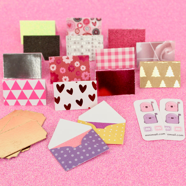 Envelopes, Cards, Stickers and Stamps - 1 Year Kit