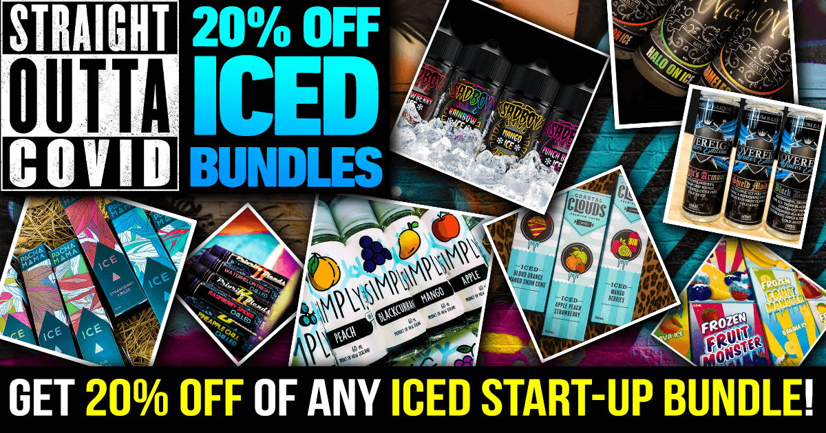 Straight out of COVID — 20% off Ice Start-up Bundles