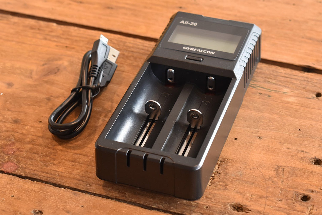 Gyrfalcon All-20 2 Bay USB Battery Charger