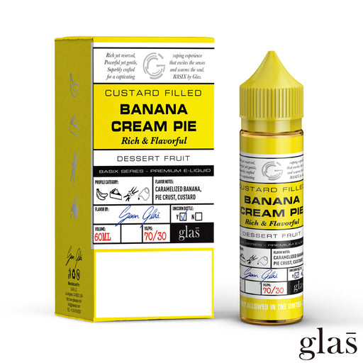 Basix by Glas E-Liquid - Banana Cream Pie