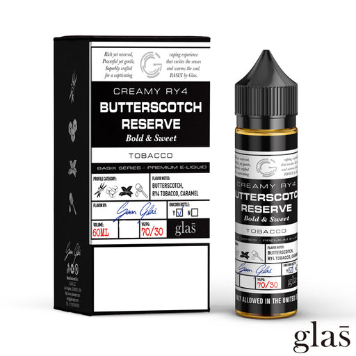 Basix by Glas E-Liquid - Butterscotch Reserve