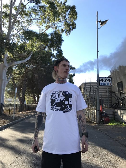 Vaping Bogan T Shirt | God Save The Bogan