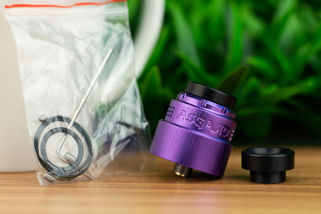 Vaperz Cloud Asgard Mini RDA - Stainless Steel Cap