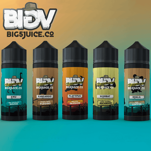 The Big 5 Juice Co Creamy Range Start-up Bundle
