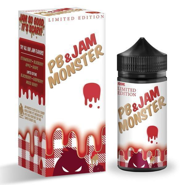 Jam Monster - PB + Strawberry Jam